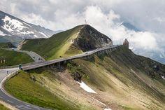 Großglockner Hochalpenstraße – 48 km hochalpines Fahrvergnügen – lichtwolken