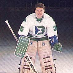 Binghamton Whalers goaltending history : xxxxx Hartford Whalers, 70s Punk, Goalie Mask, Hockey Goalie, Dusters, Scores, Nhl, Old School, Masks