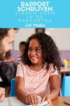 Zinnen voor in de rapporten • Juf Maike Leader In Me, Classroom Management, Coaching, Homeschool, Tips, Inspireren, Maria Montessori, Carl Jung, Amigurumi