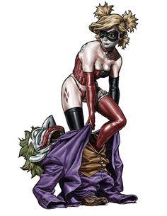 Harley Quinn by Lee Bermejo *