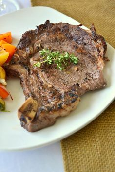... Ribeye Steak on Pinterest | Rib eye steak, Steaks and Cowboy steak