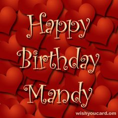 Happy Birthday Mandy | Happy Birthday