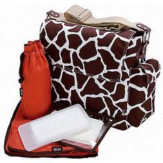 I WANT THIS BAG!!! MY DREAM DIAPER BAG!!  giraffe diaper bag