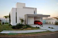 30 Fachadas de casas modernas e cinza – a cor do momento! - Decor Salteado - Blog de Decoração e Arquitetura
