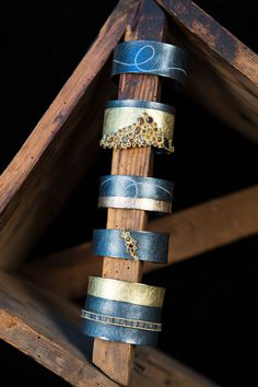 Cuffs by Todd Reed Jewelry