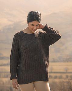"""Ravenstone,"" by Sarah Hatton, knit with Fibre Co. Arranmore Light."