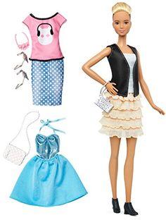 Barbie Fashionistas & Fashions Leather & Ruffles Doll, Ta... https://smile.amazon.com/dp/B01B65IO1O/ref=cm_sw_r_pi_dp_x_bALGybQ776K20
