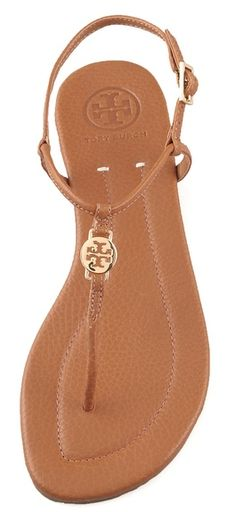 TORY BURCH Emmy flat thong sandals...I'll take one in every color please!