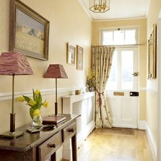 Warm wood hallway | Hallway designs | Hallway decorating ideas | housetohome.co.uk