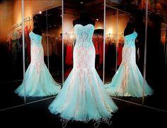aqua-nude-lace-prom-dress-mermaid-sheer-midrift-115dj011600395 at Rsvp Prom and Pageant, Atlanta, GA