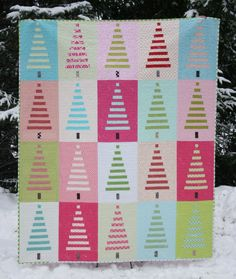 crazymomquilts — trees! quilt pattern PDF