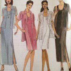 McCalls 3 Hour Dress w Shirt Pattern 2 Lengths 2764 Size 10 12 14 Regular Petite
