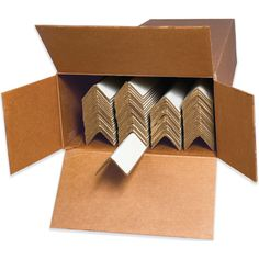 Edge Protectors - Cased from 4mailers.com #packaging #packagingmaterials  #shippingmaterials  #mailingmaterials