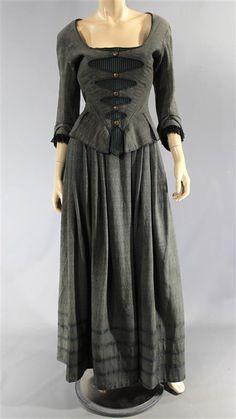 BLACK SAILS MRS HUDSON ANNALOUISE PLOWMAN SCREEN WORN DRESS EP 302 & 303