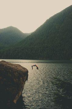 ilaurens:  Cliff Jumping - By: (ZacharySnellenberger) - (Follow...