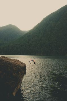 ilaurens: Cliff Jumping - By: (ZacharySnellenberger) - (Follow...