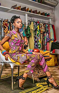 African Inspired Fashion, African Print Fashion, Africa Fashion, Fashion Prints, African Print Clothing, African Print Dresses, Classy And Fabulous, Black Is Beautiful, African Beauty