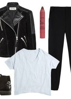 3 ways to wear a white tee this week