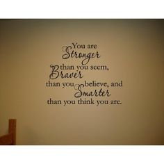 Inspirational Wall Decals
