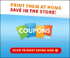 Check for coupons BEFORE going to the grocery! I need to get better at this!