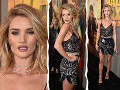"Rosie Huntington-Whiteley na premiére de ""Mad Max"" em LA 
