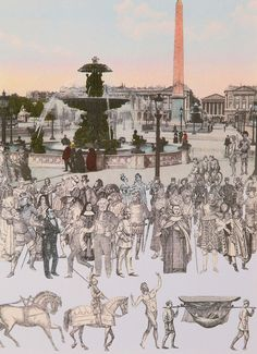 Buy- World Tour, Paris, Parade- signed limited edition silkscreen print by British artist Sir Peter Blake from CCA Galleries Beatles Albums, Peter Blake, English Artists, Royal College Of Art, Lonely Heart, London Art, Silk Screen Printing, Mixed Media Collage, Paris Skyline