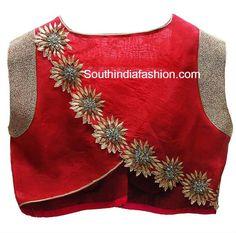 latest designer blouses 2015