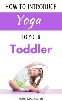 Great parenting hacks for introducing yoga to your toddler. Learn the benefits of this natural parenting activity, the best yoga poses for toddlers, and top yoga mats for kids. Even yoga beginners can teach this toddler activity. Toddler Exercise, Toddler Yoga, Exercise For Kids, Yoga Beginners, Natural Parenting, Gentle Parenting, Mindful Parenting, Parenting Toddlers, Parenting Hacks