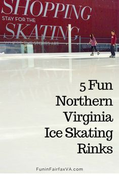 Virginia things to do. These Northern Virginia ice skating rinks (and a Washington DC bonus) offer smooth ice, happy music, and healthy winter fun for every age, whether you prefer to skate indoors or out. Virginia Fall, Hiking In Virginia, Northern Virginia, West Virginia, Winter Fun, Winter Travel, Usa Travel, Canada Travel, Mid Atlantic States