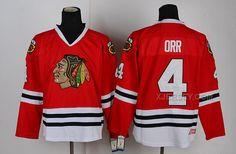 http://www.xjersey.com/blackhawks-4-orr-red-jerseys.html BLACKHAWKS 4 ORR RED JERSEYS Only $46.00 , Free Shipping!