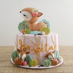 Home Cottontail Cake Studio Sugar Art PastriesCottontail Cake Studio Sugar Art Pastries Baby Girl Birthday Cake, Fall Birthday, First Birthday Cakes, Birthday Parties, Custom Birthday Cakes, Gateau Baby Shower, Deer Cakes, Woodland Cake, Girl Cakes