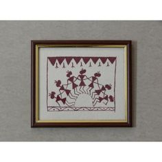 Dancing Warli Wall Decor
