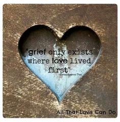 Grief is the aftermath of loving someone so greatly that when they pass, part of you goes with them.