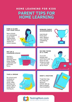Survive sudden homeschooling with 6 important tips from TestingMom.com - including free live online classes for kids - with experienced teachers! Sign-up for one of the many weekly online classes offered. Parents welcome! Baby Learning, Home Learning, Learning Activities, Science Projects For Kids, Science For Kids, Home Schooling, Kids Online, How To Better Yourself, Teacher Appreciation