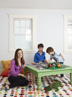 DIY Drawing Table for Kids