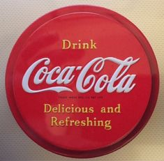 Original Classic Coca Cola Plastic Fridge Magnet 3 Circle Red with White name Coca Cola Ad, World Of Coca Cola, White Names, Magnets, Vintage Items, Red And White, Logo Design, Plastic, The Originals