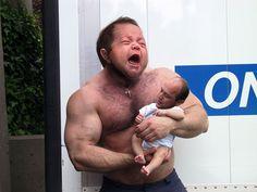 """10 Fantastiska """"Man Babies"""" - Du anar inte hur roligt det här är! #manbabies #kul #humor #fun #roligt #fantastiskt #Obsid"""