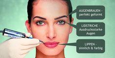 Permanent Make Up zum halben Preis - Augenbrauen, Lidstriche oder Lippen