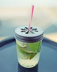 I like this...but I also like the sangria in glass drink dispensers...sangria in mason jars, does that work? I just love the mason jars :-)