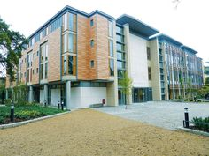 Airtec natural stone ventilated cladding system was specified for the Dickson Poon University of Oxford China Centre Building in the grounds of St Hugh's College. Rainscreen Cladding, Stone Cladding, University Architecture, Cladding Systems, Aesthetic Look, Facade Design, Natural Stones, Design Projects, Centre