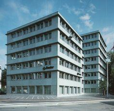 Diener & Diener - Verwaltungsgebäude Bâloise (1993) Basel, Switzerland © Heinrich Helfenstein