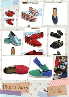TOMS Shoes - im sure they are comfy,  but a sight for sore eyes...