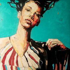 aaahhhh!!! - Summer Wind II by Anna Bocek #art #paintings