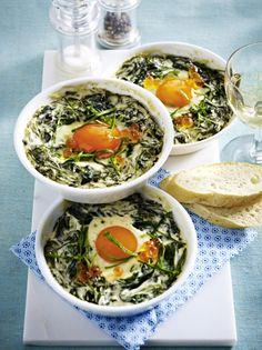 Unser beliebtes Rezept für Geschmortes Ei mit Sauerampfer und mehr als 55.000 weitere kostenlose Rezepte auf LECKER.de.