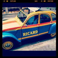 2CV Ricard • citroen 2CV