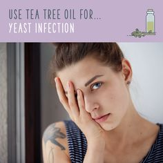 Tea Tree Oil For Yeast Infection  Dealing with a yeast infection? Studies are still inconclusive regarding tea tree oil's effect on vaginal infections, so ask your doctor before you try it out for yourself. Some women coat the top half of a tampon with lubricant, apply a few drops of tea tree oil, and insert. Other women simply add a few drops of tea tree oil to a bath and soak for at least 30 minutes.