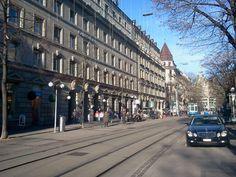 Switzerland, Zürich, Bahnhofstrasse
