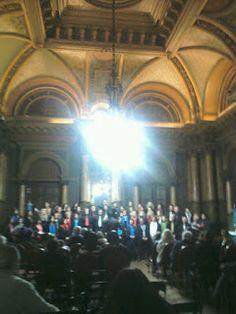 """Siguiendo un sueño...: concierto del coro """"Polifonico del mar"""" La Plata"""