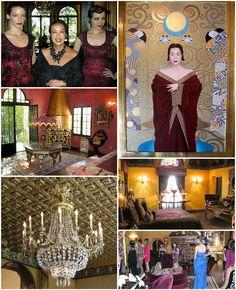 Sue Wong's fashion house. (http://www.apparelnews.net/news/2013/jun/20/sue-wong-shares-her-fashion-and-home-museum-patron/) #Sue #Wong #SueWong #Fashion #Tour
