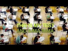 motivational video for california standards testing (CST), looks more like High School students